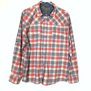 Jachs Girlfriend Plaid Shirt XXL Womens